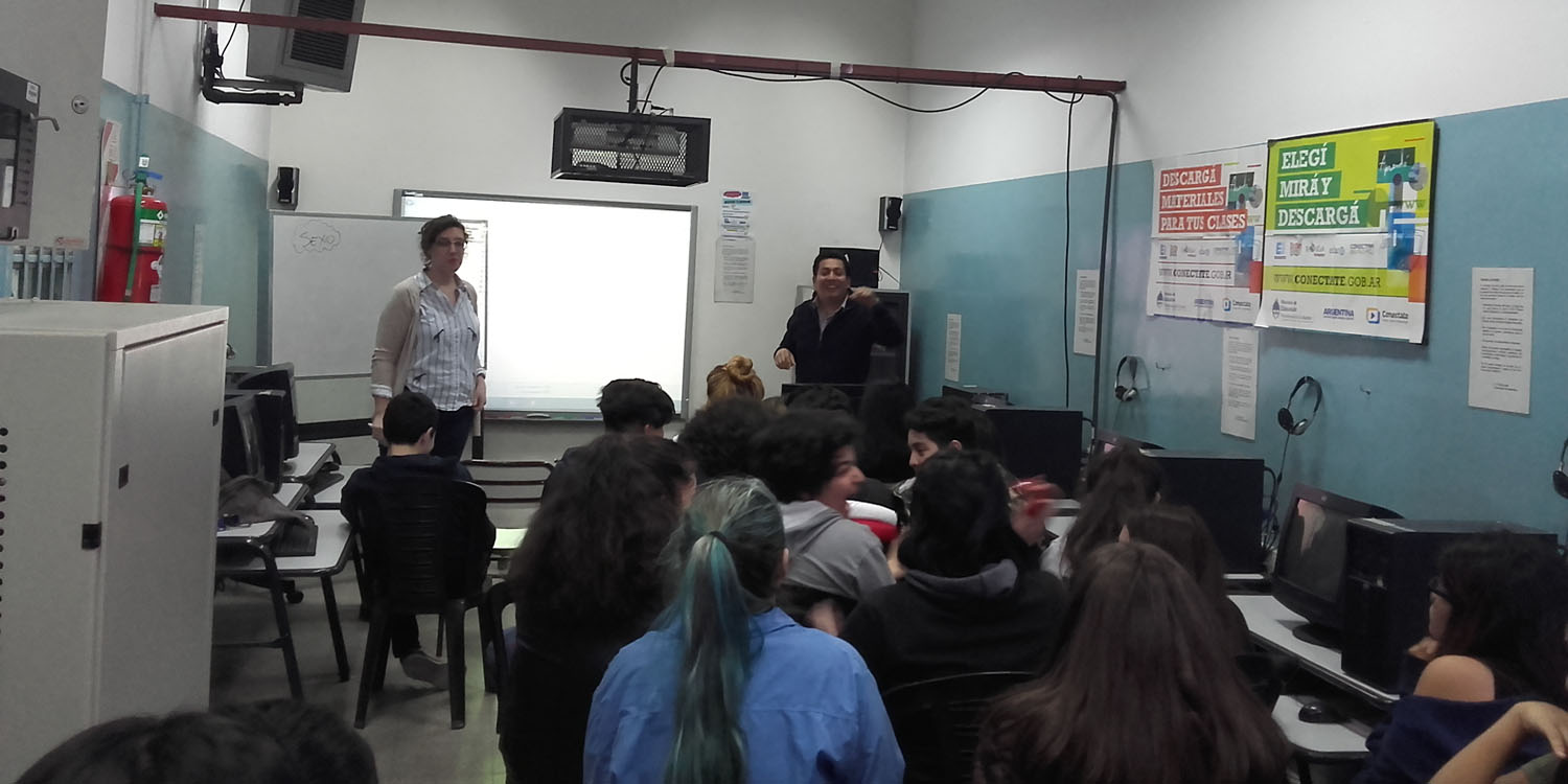 Talleres de Educación Sexual Integral en la Escuela Normal Superior N° 3