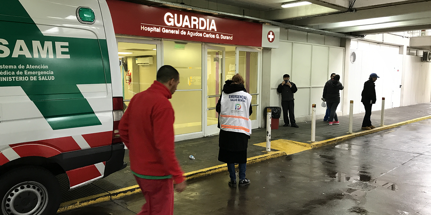 Escape de gas en Caballito: La Defensoría presente en la emergencia